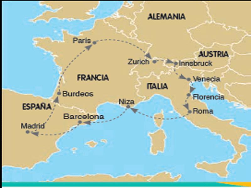 Viajes y Ofertas Tours por Europa