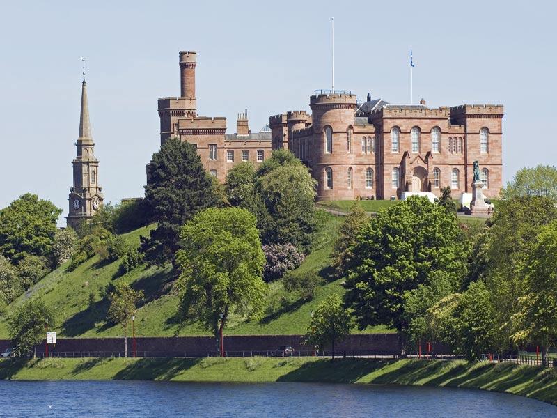 Escocia Castillo de Inverness