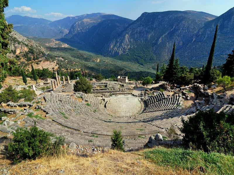 Tour por Grecia visita de Delfos