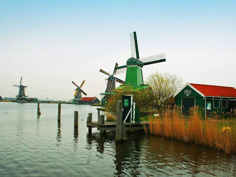 Visitando Holanda y sus molinos