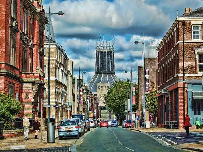 De visita en tour Liverpool