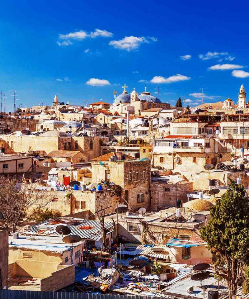 De Jerusalem a Petra 8 días